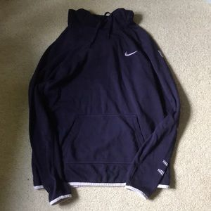 Nike purple hoodie